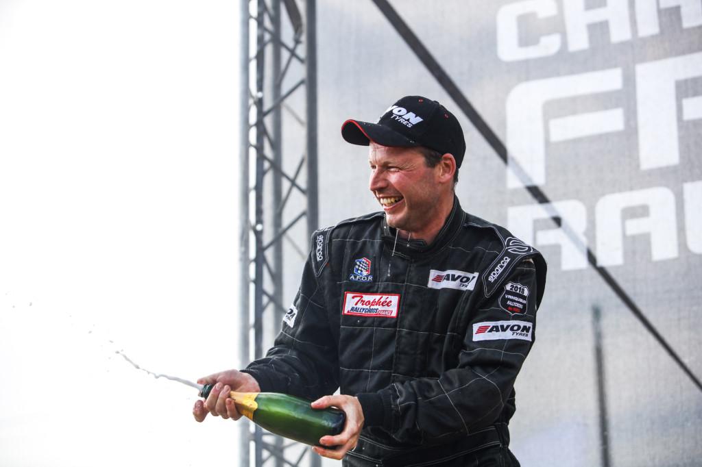 Xavier Goubill sacré champion de France à Dreux